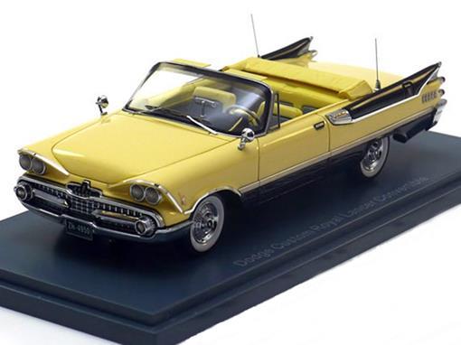 Dodge: Custom Royal Lancer - Conversível - 1:43 - Neo Scale