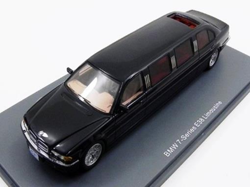 BMW: 7 Series E38 Limousine - Preto - 1:43 - Neo Scale