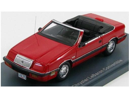 Chrysler LeBaron Convertible - Vermelho - 1:43 - Neo Scale Models