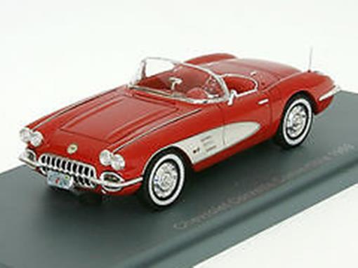 Chevrolet: Corvette Convertible (1959) - Vermelho - 1:43 - Neo Scale Models