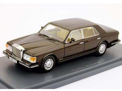 Bentley: Mulsanne - Marrom - 1:43 - Neo Scale