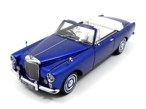 Bentley: SII Mulliner Park Ward DHC - Azul - 1:43 - Neo Scale