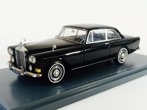 Rolls-Royce: Silver Cloud III Mulliner Park Ward FHC - Preto - 1:43 - Neo Scale Models