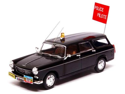 Peugeot: 404 Break - Police (1967) - 1:43 - Norev