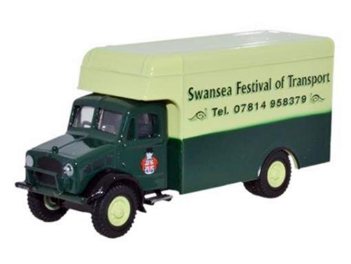Bedford: Swansea Festival of Transport - Verde - 1:76 - Oxford
