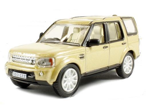 Land Rover: Discovery 4 - Dourada - 1:76 - Oxford
