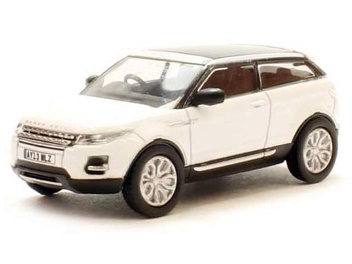 Land Rover: Range Rover Evoque - Branca - 1:76 - Oxford