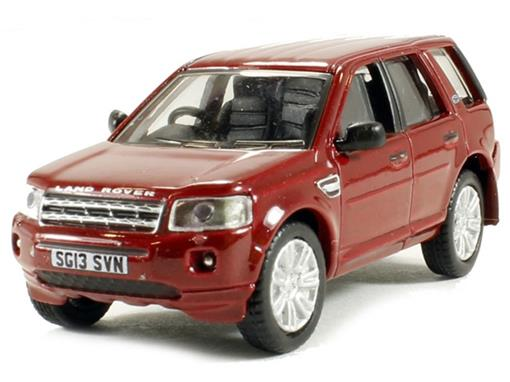 Lande Rover: Freelander - Vermelha - 1:76 - Oxford