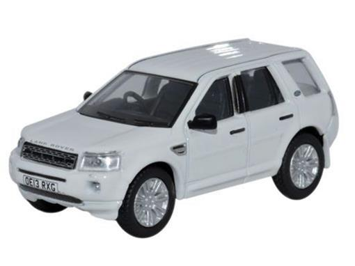 Land Rover: Freelander - Branco - 1:76 - Oxford