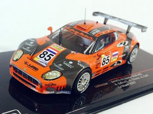 Spyker: C8 Spyder GT2R #85 - Le Mans 2007 - 1:43 - Ixo Models