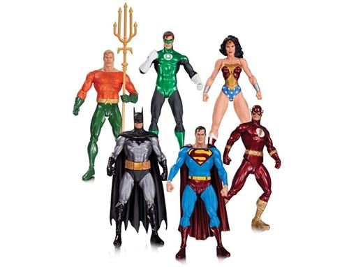 Set: Liga da Justiça (Justice League) Alex Ross - 6 Pack - DC Collectibles