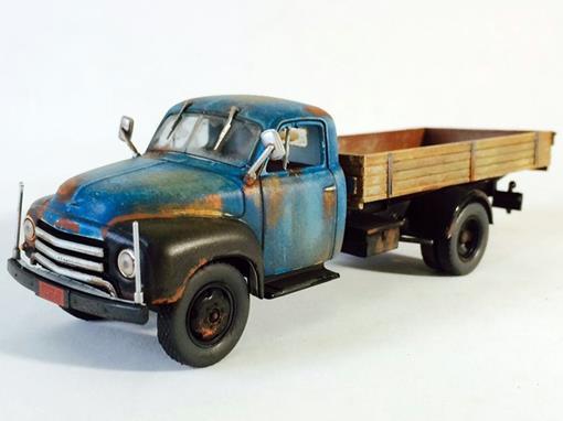 Chevrolet: 6400 (1951) - Azul -