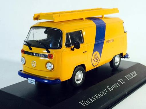 Volkswagen: Kombi T2 - Telesp - 1:43 - Ixo