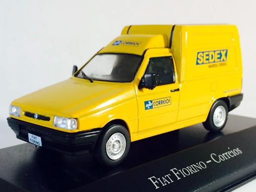 Fiat: Fiorino - Correios - 1:43 - Ixo