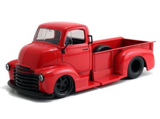 Chevrolet: Coe Pickup (1952) - Vermelho - Just Trucks - 1:24 - Jada
