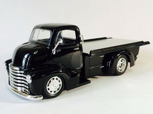 Chevrolet: Coe Flatbed (1952) - Just Trucks - Preto - 1:24 - Jada