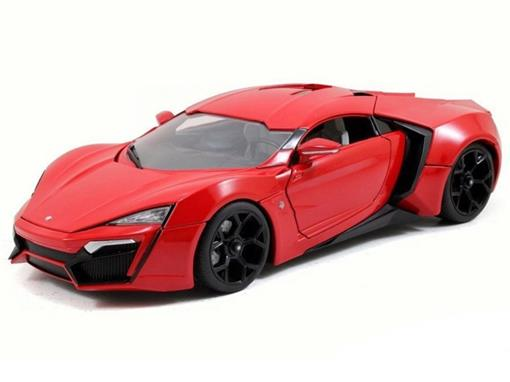 Lykan: HyperSport W Motors Supercar (2015) - Velozes e Furiosos 7 - Jada - 1:18