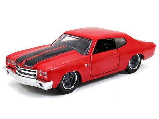 Chevrolet: Chevelle SS Dom's (1970) Velozes e Furiosos - Vermelho - Jada - 1:32