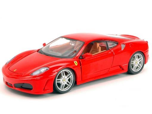 Ferrari: F430 - Race e Play - Vermelho - 1:24 - Burago