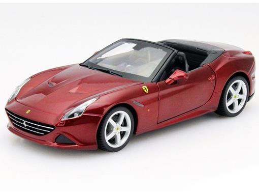 Ferrari: California T - Race e Play - Borgonha - 1:24 - Burago