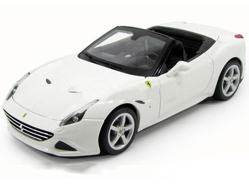Ferrari: California T - Race e Play - Branco - 1:24 - Burago