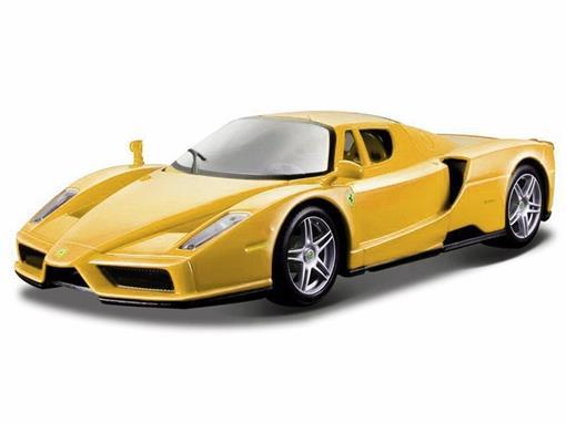 Ferrari: Enzo - Race e Play - Amarelo - 1:24 - Burago