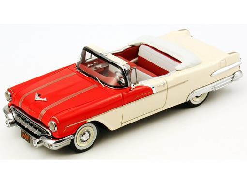 Pontiac: Star Chief Conversível - Creme / Vermelho - 1:43 - Neo Scale