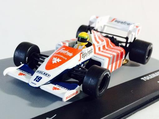 Toleman: TG 184 - Ayrton Senna - GP Portugal 1984 - 1:43 - Ixo