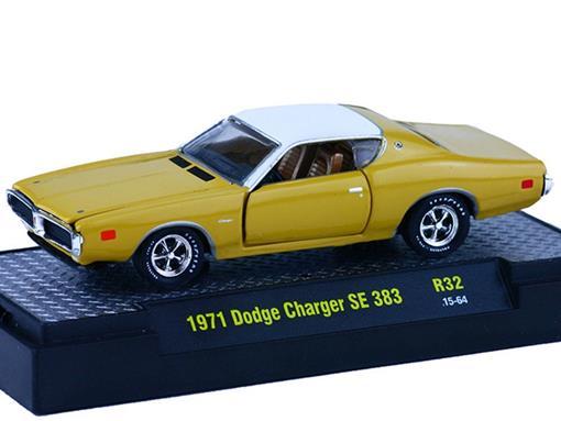 Dodge: Charger SE 383 (1971) - Amarelo - 1:64 - M2 Machines