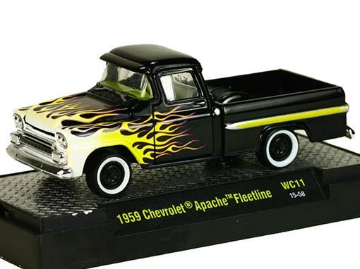 Chevrolet: Apache Fleetline Pickup (1959) - 1:64 - M2 Machines