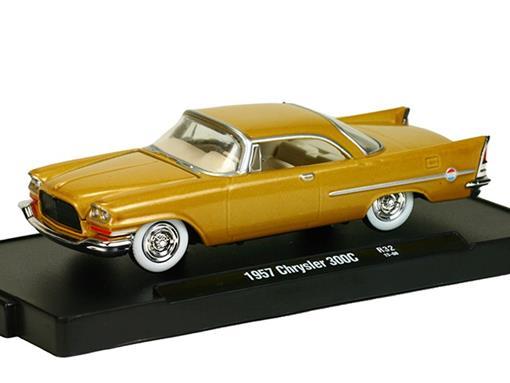 Chrysler: 300C (1957) - Auto Drivers - Amarelo - M2 Machines - 1:64