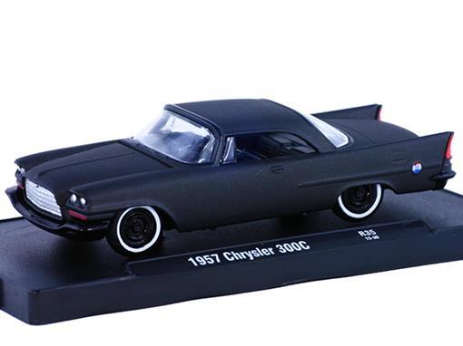 Chrysler: 300C (1957) - Auto Drivers - Preto - 1:64 - M2 Machines
