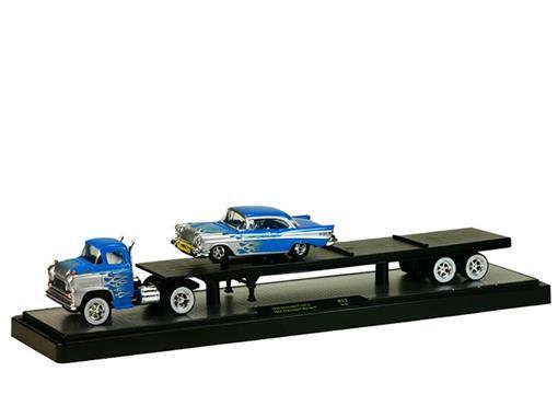 Chevrolet: Caminhão LCF (1958)/ Chevrolet Bel Air (1957) - 1:64 - Auto Haulers