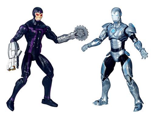 Bonecos Homem Máquina / Homem de Ferro Superior - Mechanical Masters - Secret Wars - Comic Book - 3.75