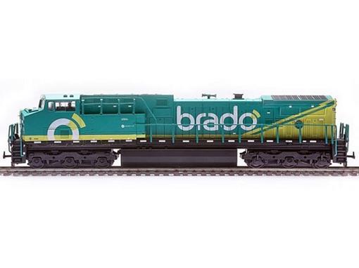 Locomotiva Elétrica AC44i Brado (9580) - HO - Frateschi