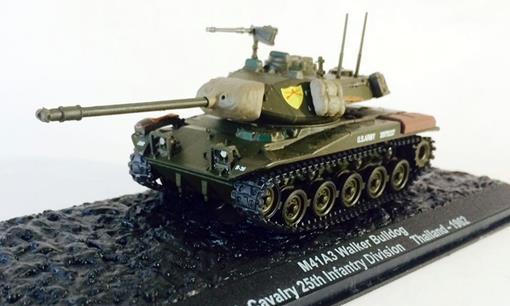 M41A3 Walker Bulldog - 4th Cavalary 25th Infantry Division (Thailand, 1962) - 1:72 - Altaya