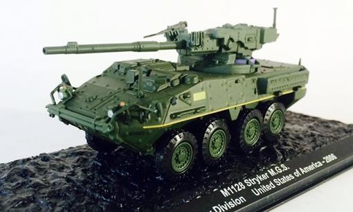 M1128 Stryker M.G.S - 2nd Infantry Division (United States of America, 2006) - 1:72 - Altaya