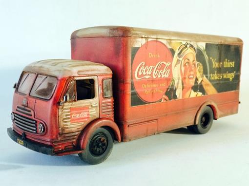 Ford: Simca Cargo - Coca Cola -