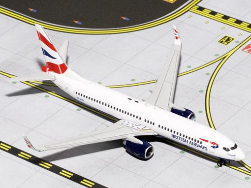 British Airways: Boeing 737-800 - 1:400 - Gemini Jets