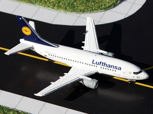Lufthansa: Boeing 737-500 D-ABIR Anklam - 1:400 - Gemini Jets
