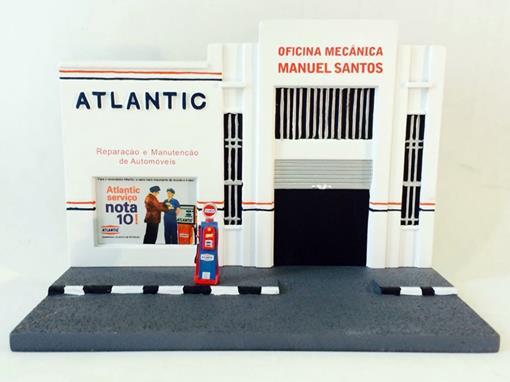 Mini Diorama: Fachada Oficina Mecânica Planeta DeAgostini - 1:43