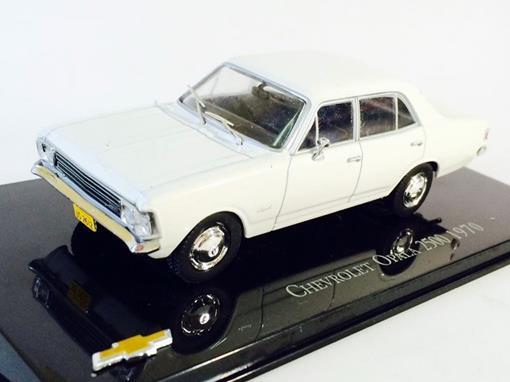 Chevrolet: Opala 2500 (1970) - Branco - 1:43 - Ixo