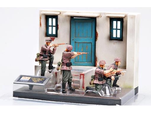 Diorama: Soldados German Army Elite Urban Combat - Belgrade (1941) - 1:35 - Easy Model
