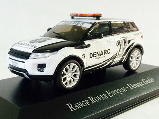 Land Rover: Range Rover Evoque - Denarc Goiás - 1:43 - Ixo