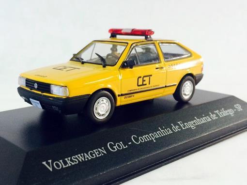 Volkswagen: Gol - Companhia de Engenharia de Tráfego SP - 1:43 - Ixo