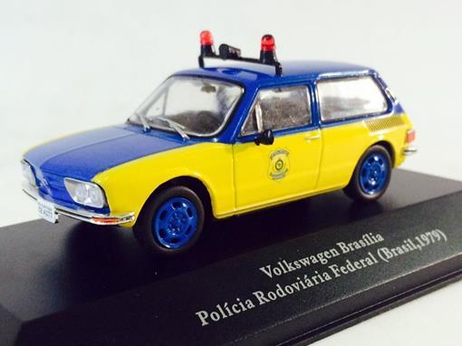 Volkswagen: Brasília - Polícia Rodoviária Federal (Brasil, 1979) - 1:43 - Ixo