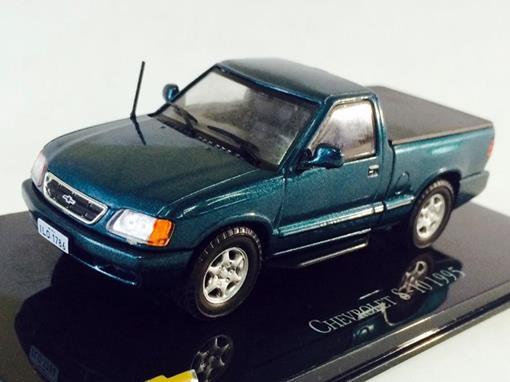 Chevrolet: S-10 (1995) - Verde - 1:43 - Ixo