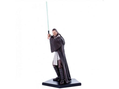 Estátua Qui-Gon Jinn - Star Wars - Art Scale - 1:10 - Iron Studios