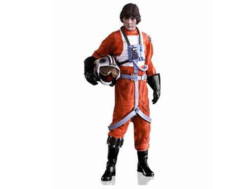 Estátua Luke Skywalker (X-Wing Pilot) - Star Wars - Art Scale - 1:10 - Iron Studios