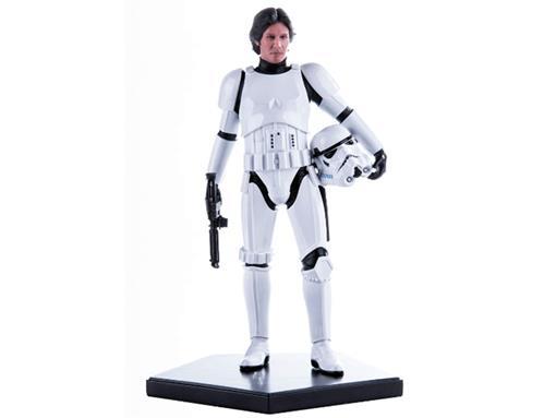 Estátua Han Solo - In Stormtrooper Disguise - Star Wars - Art Scale - 1:10 - Iron Studios